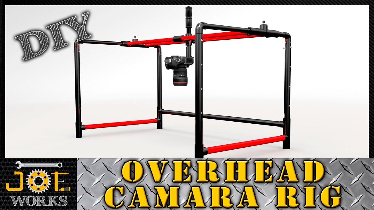 Pvc Pipe Camera : Diy building our pvc overhead camera rig version