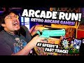 Retro Arcade Games! Arcade Fun Run at Speedy's Fast Track! Old Arcade Ticket Games and Jackpots!