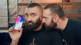iPhone X | Ένας γκρινιάζει. Ένας θαυμάζει. | Unboxholics