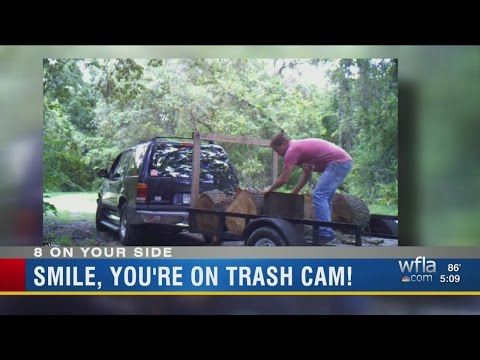 Pasco officials put up cameras to catch people illegally dumping trash