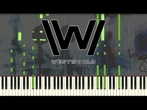 Radiohead - Exit Music (For A Film) - Synthesia / Piano Tutorial