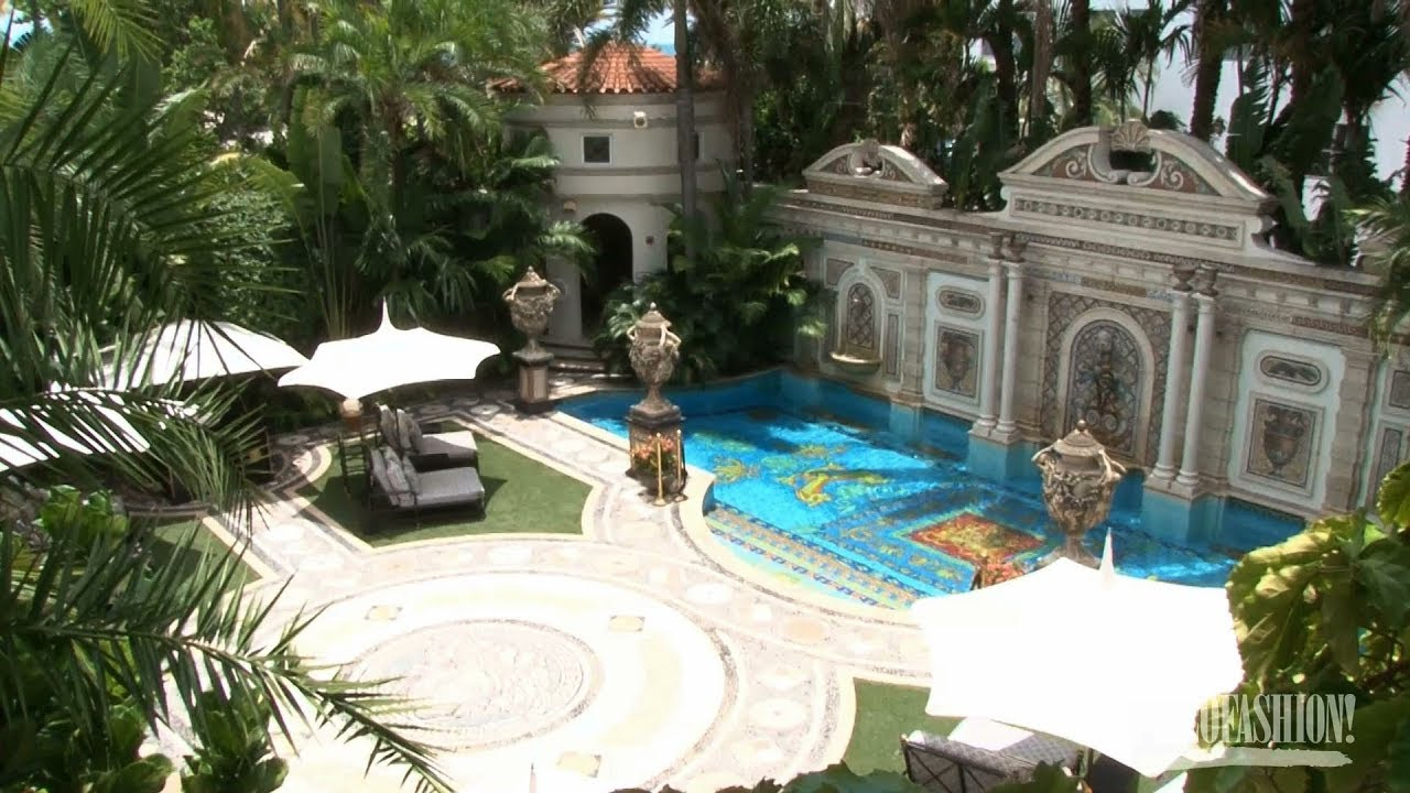 Tour the Versace Mansion - YouTube