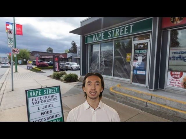 Vape Street Shop in Burnaby, BC