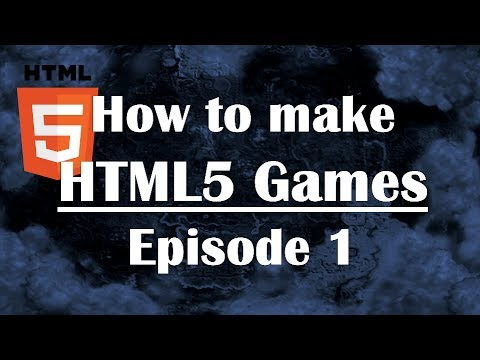 Ep1: How To Make HTML5 Games: Javascript Tutorial For Beginners JS Guide