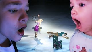 FIGHT on DISNEY ON ICE!