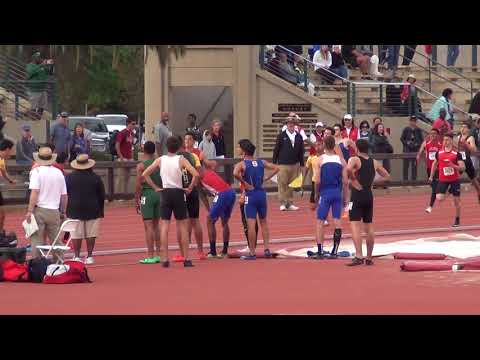 Junipero Serra High School 4x400m Relay Team - Stanford Invitational 2018