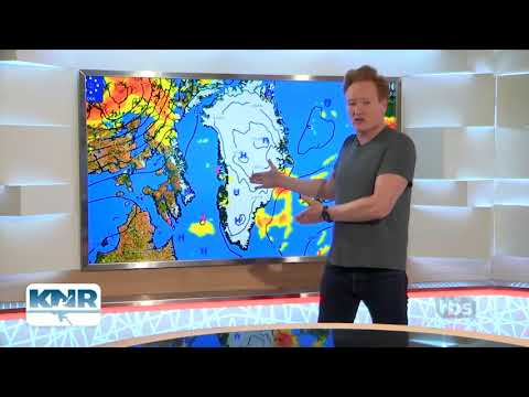 Conan O'Brien Reads Greenland Forecast - Conan Without Borders - Greenland