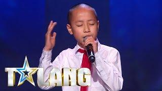 Henrik Phung sjunger When a man loves a woman i Talang 2018 - Talang (TV4)