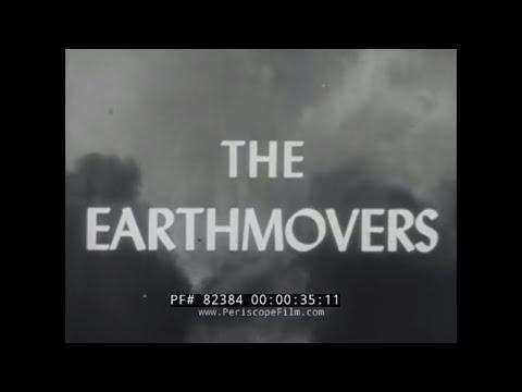 "1944 NAVY SEABEES DOCUMENTARY  "" THE EARTHMOVERS ""  CBs In WORLD WAR II CONSTRUCTION  82384 thumbnail"