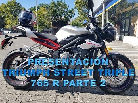 Presentación Triumph Street Triple 765 R Argentina Parte 2