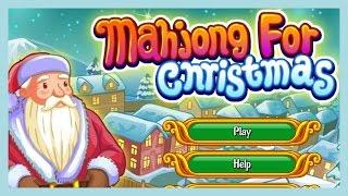Mahjong Christmas Game | Gameplay of Mahjong For Christmas