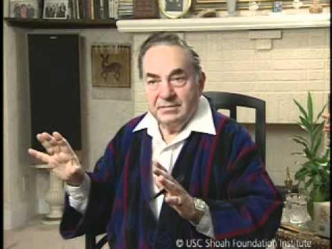 Jewish Survivor Moshe Taube Testimony