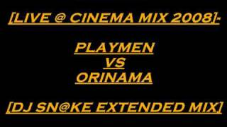 O XOROS [ LIVE @ CINEMA MIX 2008 ] PLAYMEN VS ONIRAMA [ DJ SN@KE EXTENDED MIX ] by Dj sN@kE