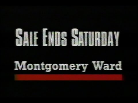 May 1992 - Lowest Prices Of The Season At Montgomery Ward