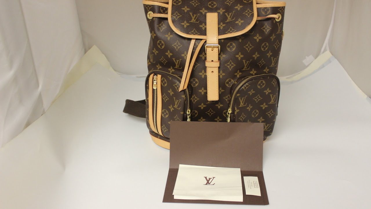 511af6d61 Louis Vuitton Bosphore Backpack and King Size Toiletry Bag - YouTube