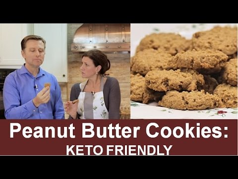 Peanut Butter Cookies: Keto Friendly