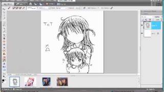 Amu and Ikuto- Speed Drawing For pinkcherryblossom654