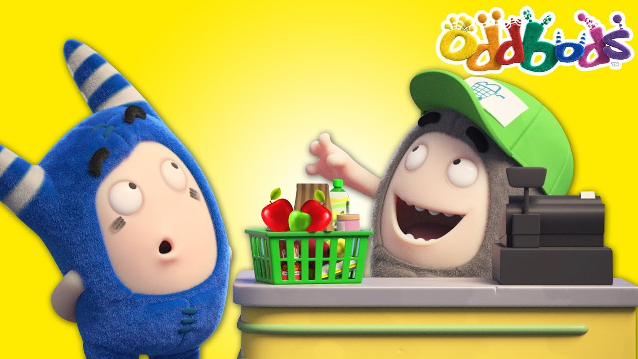 Oddbods | NEW | Supermarket | Best Cartoons For Kids