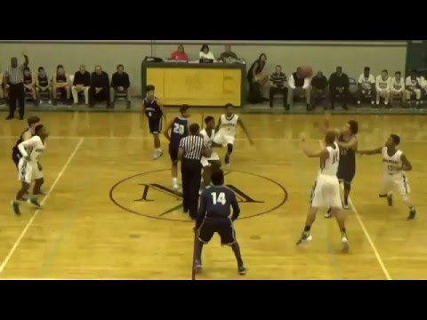 Brandon Miller PG #4 Blue Jersey Full Game Vs Northwood Academy (Away) (Away)