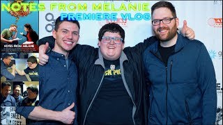 Notes From Melanie Premiere Vlog | Ft. Chris Stuckmann & theFLICKpick