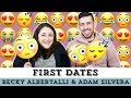 Becky Albertalli & Adam Silvera React to First Dates 😍😂😳| WHAT IF IT'S US