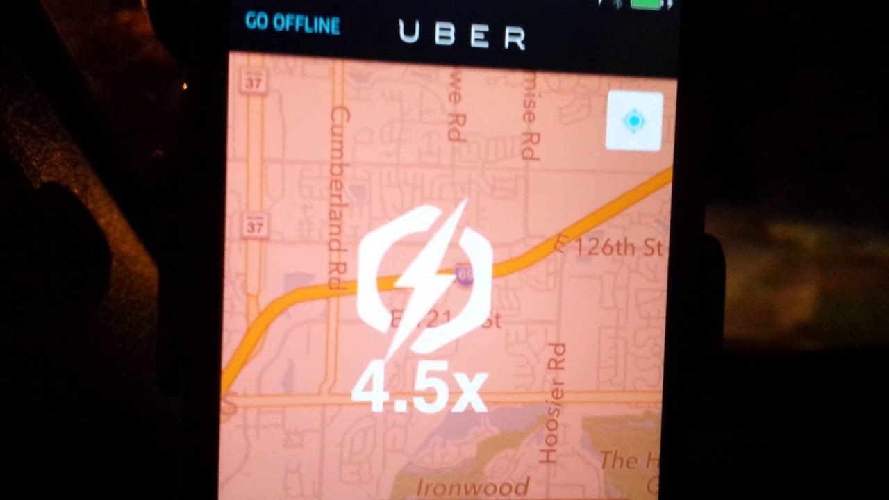 Uber Surge Pricing And Best Location When Surging YouTube - Uber heat map us