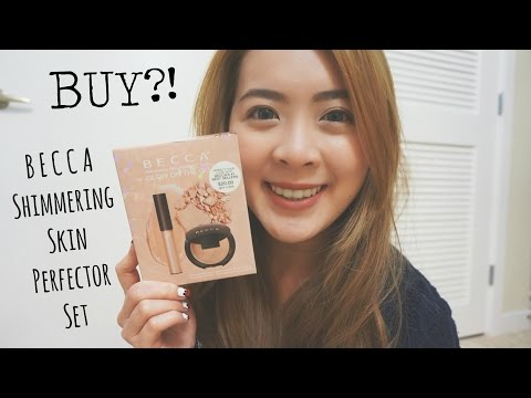 BUY?! Becca Glow On The Go Set Demo/Review❤ | misssmileyp