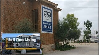 Motorhome Aire Review Of Camper Area 7 in El Campello, Spain