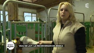 Veau de lait : la reconversion de Jessica