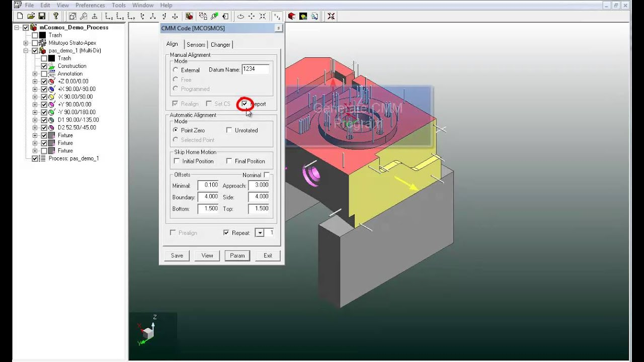 how to load pas cmm program in to mcosmos v3 1 and up youtube rh youtube com