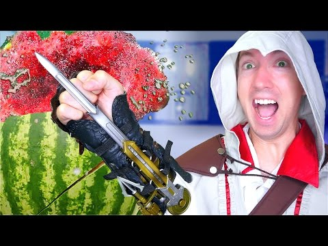 5 Assassin's Creed Weapons vs Fruit Ninja
