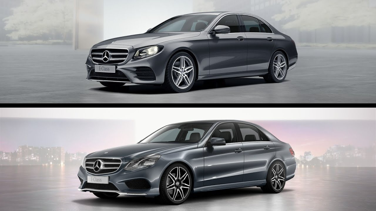 e class w212 vs w213 comparison design mercedes e 200 two generations youtube. Black Bedroom Furniture Sets. Home Design Ideas