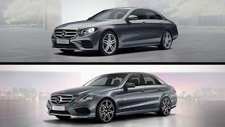 E-class w212 vs w213. Comparison design Mercedes E 200 two generations.(, 2016-01-24T18:40:15.000Z)