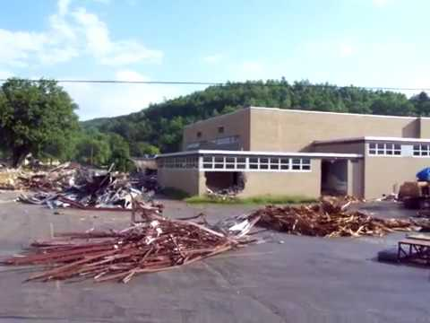 Clearfield Middle School Demolished