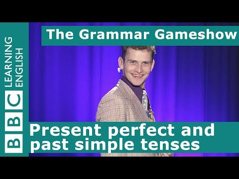 Present Perfect And Past Simple: The Grammar Gameshow Episode 29
