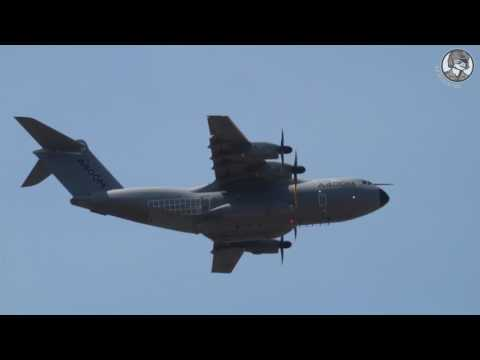 Paris Air Show Day 1: Military Aircraft Flight Display