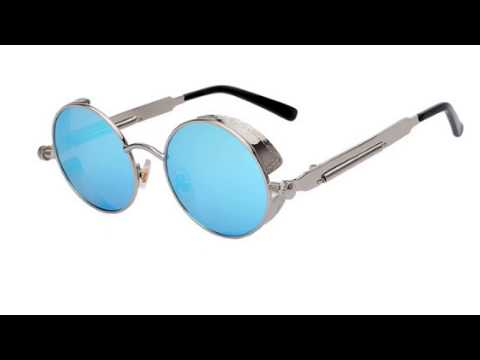 Oculos steampunk redondo