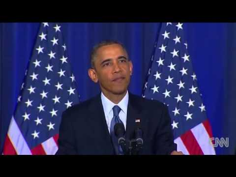 Obama's War Speech Interrupted by Peace Activist