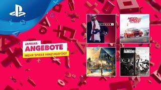 PlayStation Store - Januar Angebote Runde 2 [DE]