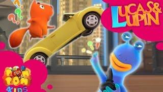 Phim hoạt hình cho bé LUCAS & LUPIN | Tập 5 - TAY ĐUA KÌ KHÔI | POM POM 4kids