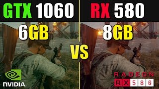 rX 580 vs GTX 1060 Test in 2019