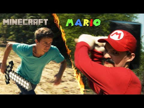 Thumbnail: Mario vs Minecraft