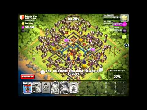 Sandbox Attacks And Unlimited Troops - Clash Of Clans