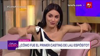 El primer casting de Lali Espósito - Cortá por Lozano