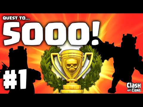 The Quest To 5000 Trophies!