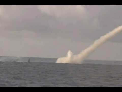 UK Ministry Of Defence - HMS Astute First Tomahawk Launch In US & Hit Target [480p]