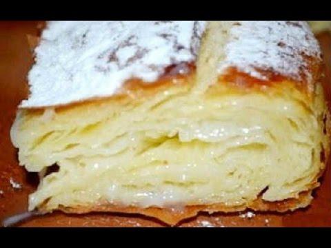 Фытыр.Египетский пирог с кремом/Pie Recipe, English Subtitles