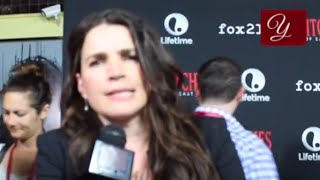 Witches Of East End - Julia Ormond Interview at San Diego ComicCon 2014