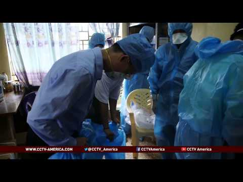 Chinese medical team in West Africa for Ebola outbreak support