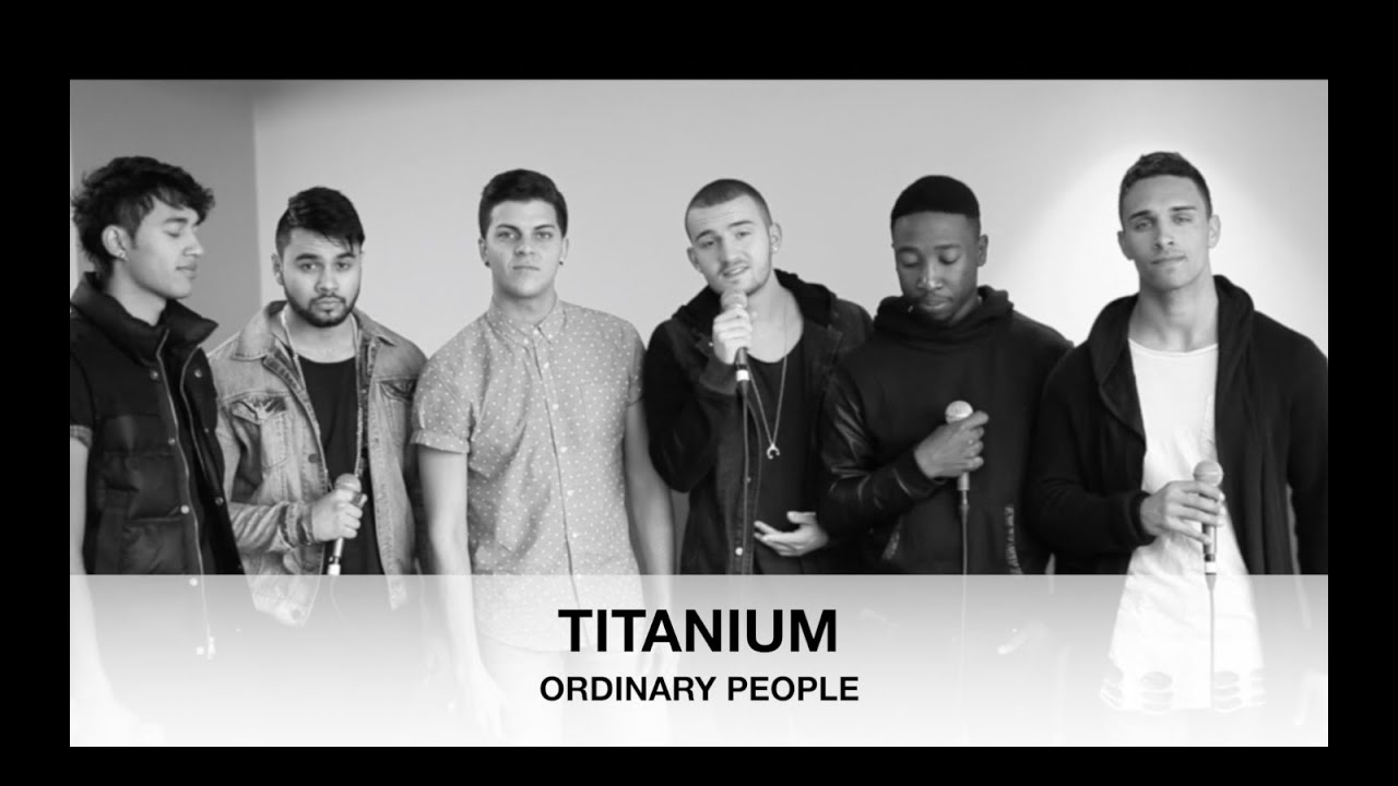 Ordinary people by John Legend | TITANIUM cover